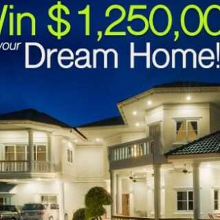 PCH Win $1250000 Dream Home Giveaway